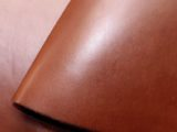 12 x 24 inch Roasted Almond Nut Coloured Vegetable Tanned Full Grain Tooling Leather – 2.5mm (6oz)