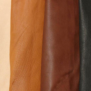 Coloured Veg Tanned Leather