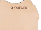 3mm 7-8oz Natural Veg Tanned Tooling Leather Shoulder