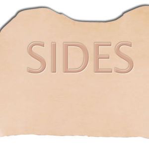 Vegetable Tanned Whole Hide Sides