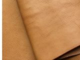 24 x 29 inch Walnut Coloured Vegetable Tanned Full Grain Tooling Leather – 2mm (5oz)
