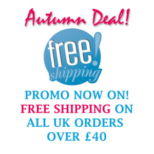 Free shipping on all orders over £40